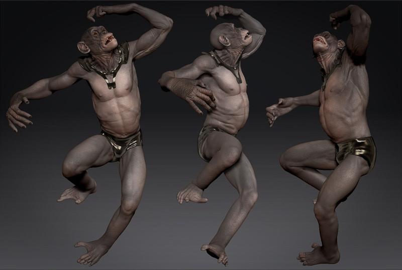 Dancing Bonobos