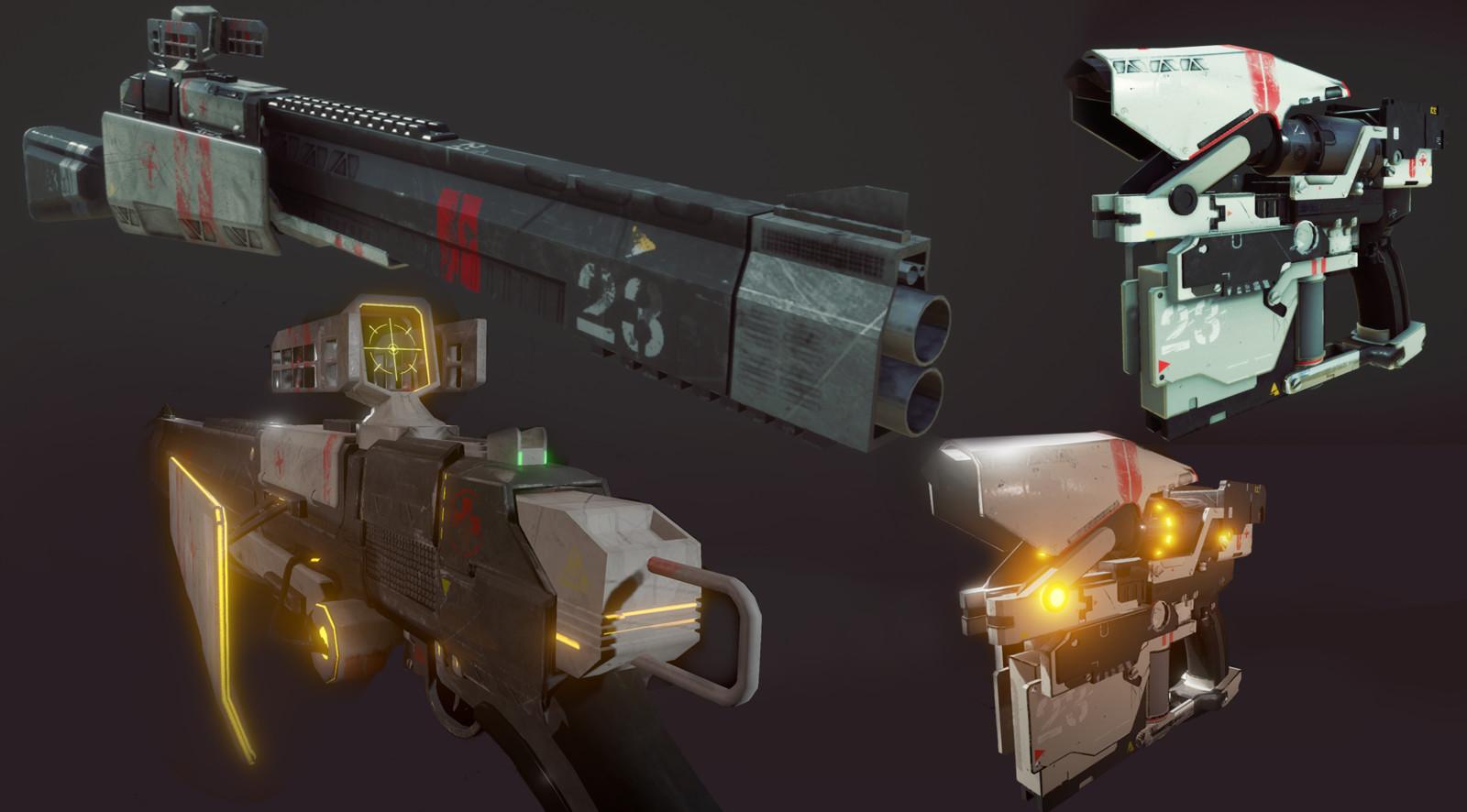 In Game renders