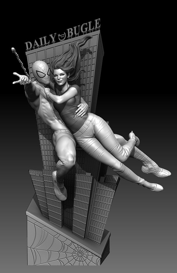 MaryJane Statue