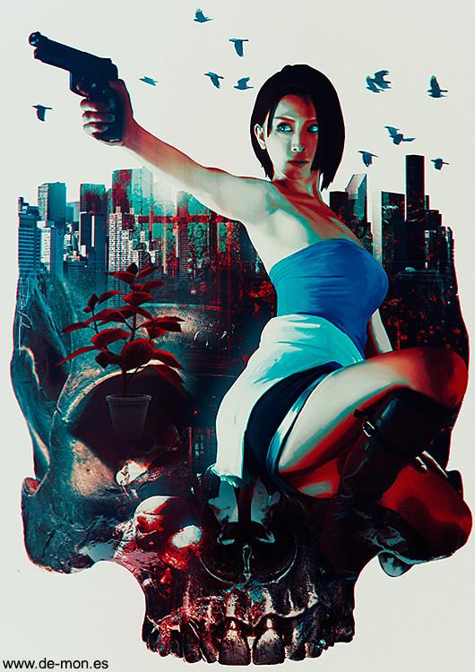 Artstation Jill Valentine Resident Evil 3 Fan Art Ramon Varela