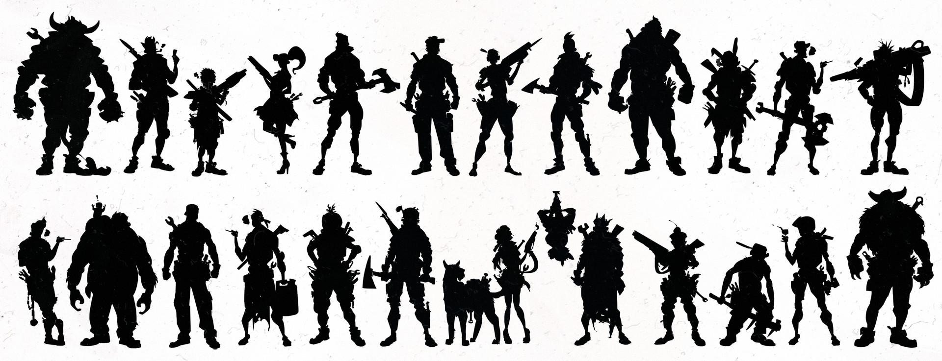 Scott flanders grip silhouettes 1