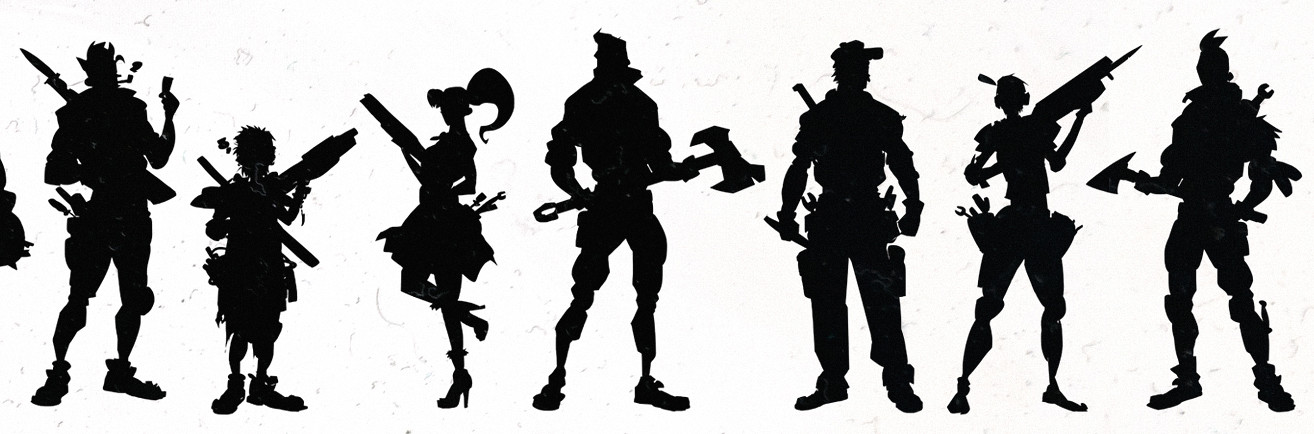 Scott flanders grip silhouettes detail