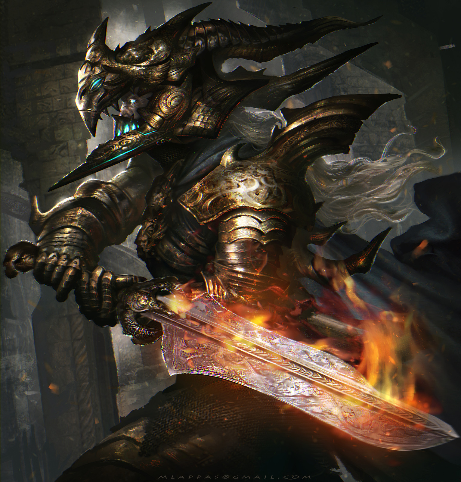 Demonic Swordmaster -Advanced version