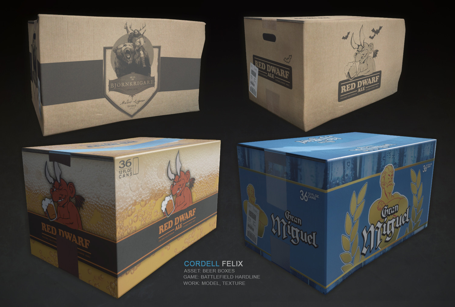 Cordell felix beerboxes bfh