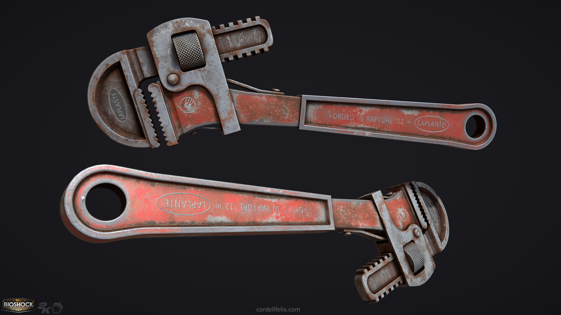 Cordell felix cordellfelix bioshock wrench 04