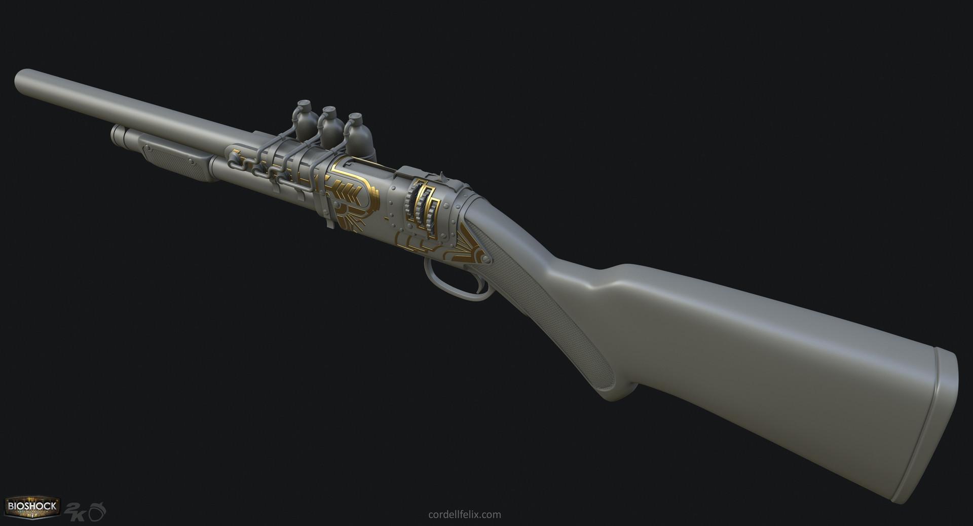 Cordell felix cordellfelix bioshock shotgun hp 06