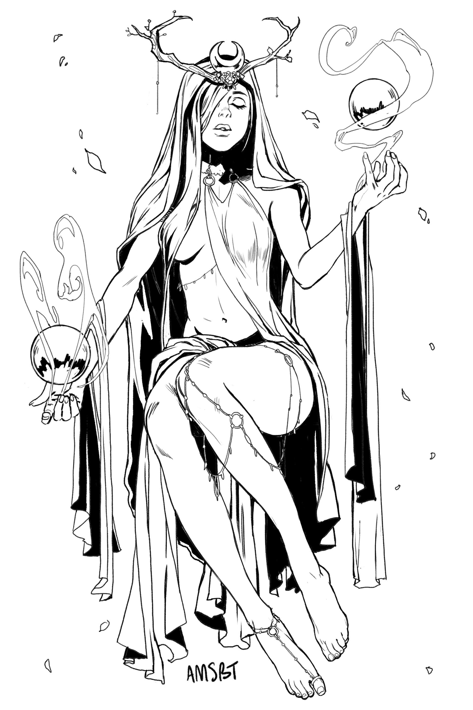 Amanda schank oracle witch