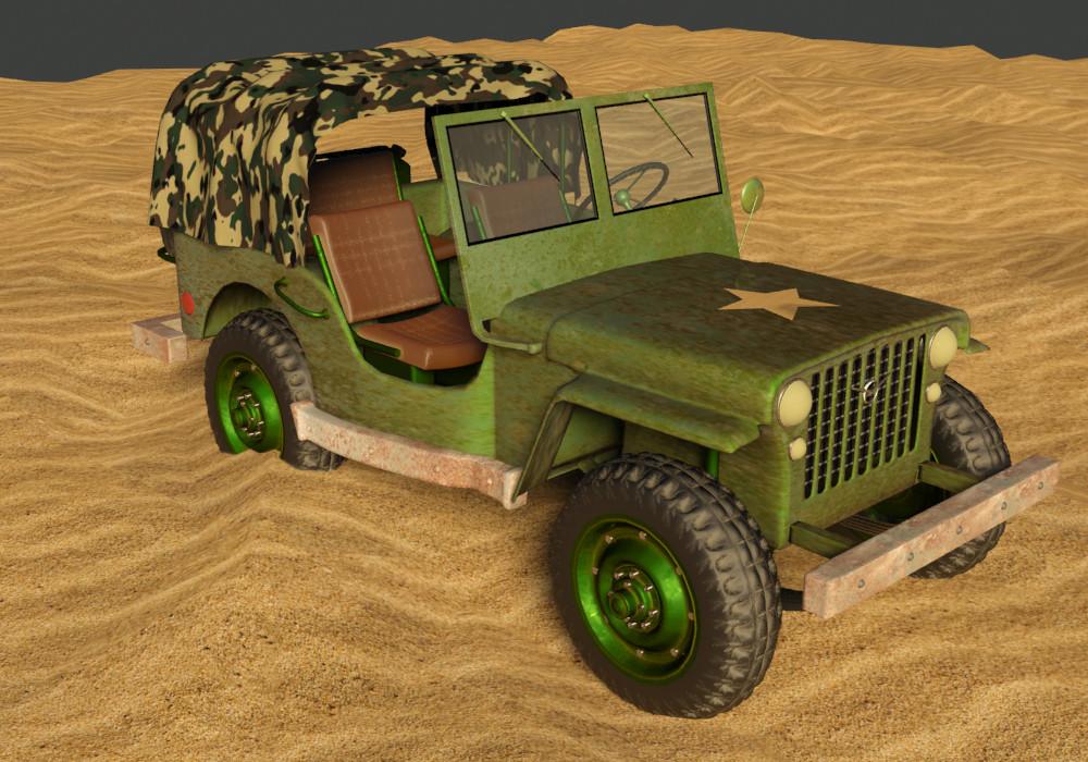 Petar doychev military jeep 15