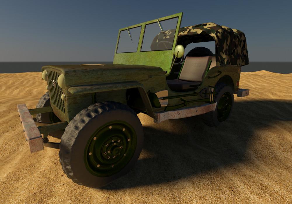 Petar doychev military jeep 14