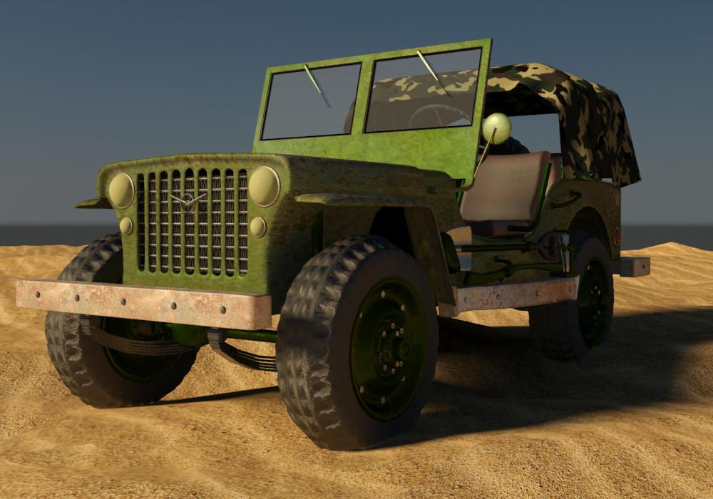 Petar doychev military jeep 12