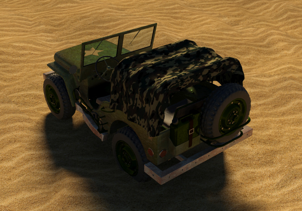Petar doychev military jeep 17