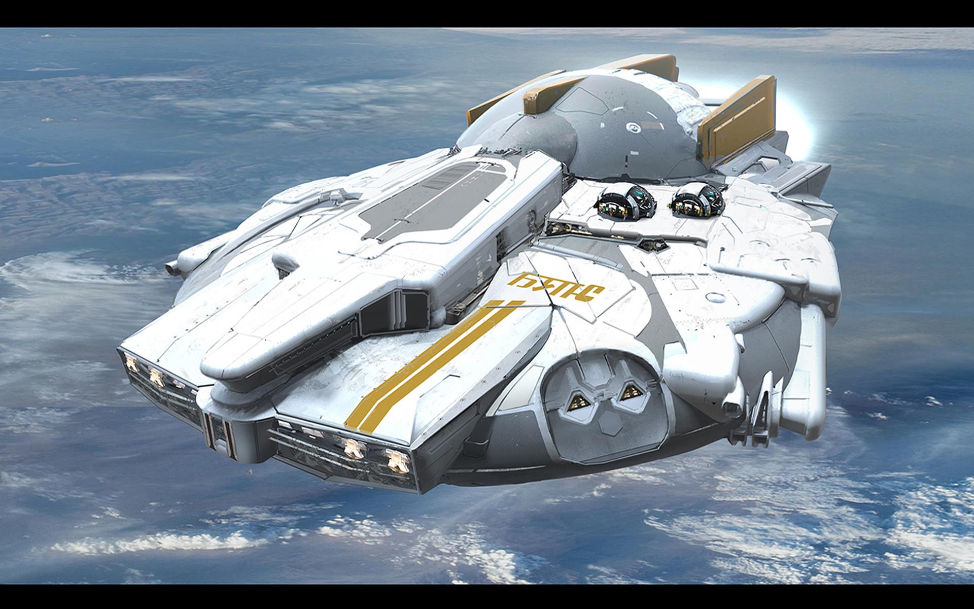 Greg danton flying ship