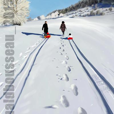 Ronald bousseau winterwalk ronaldbousseau 2015