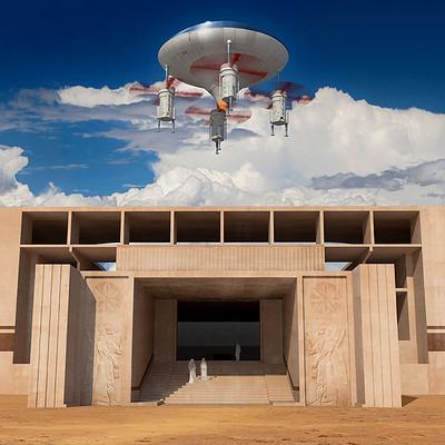 Giorgos tsolis ezekiel s spaceship