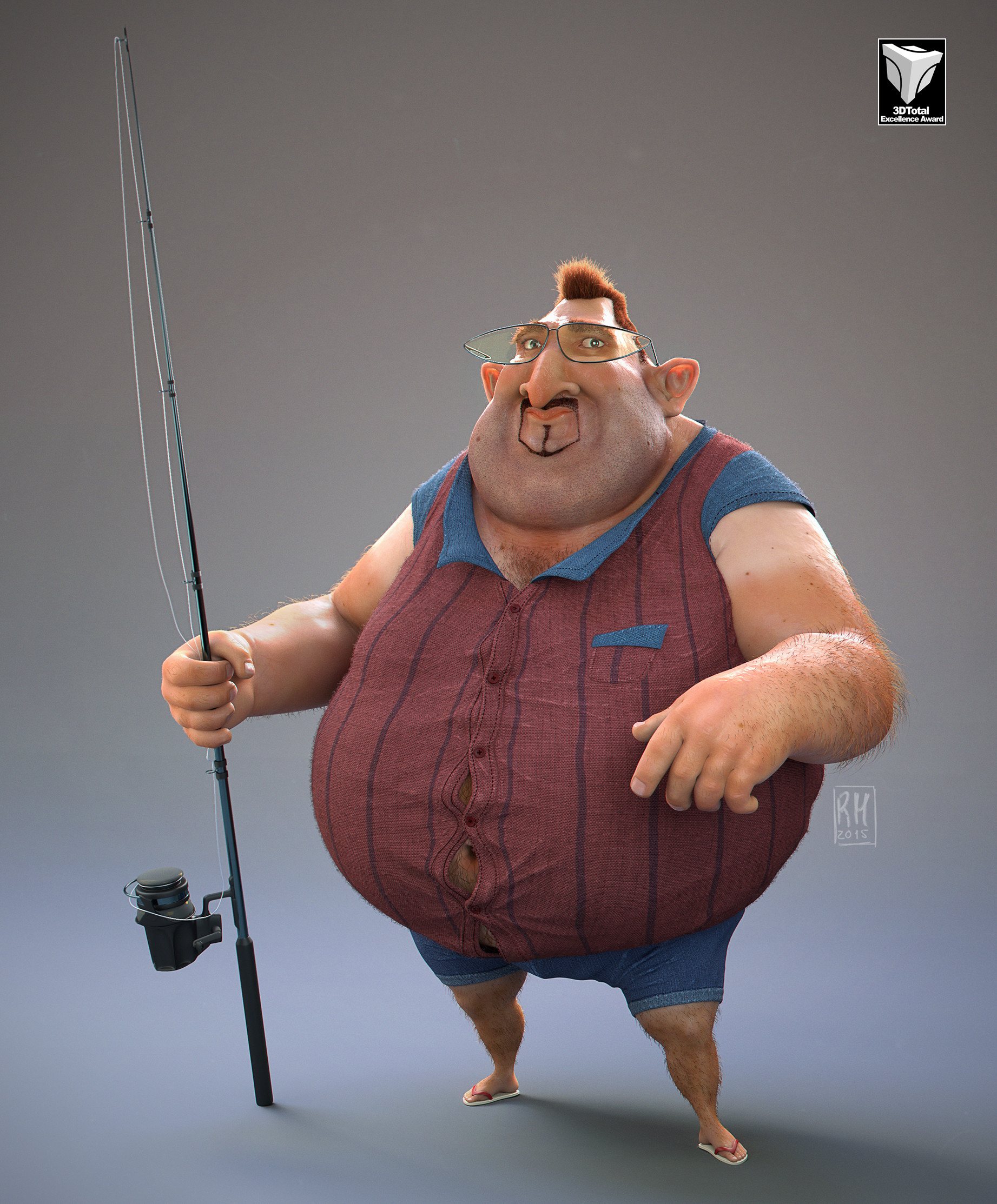 Ricardo manso fisherman m 3dtotal 01