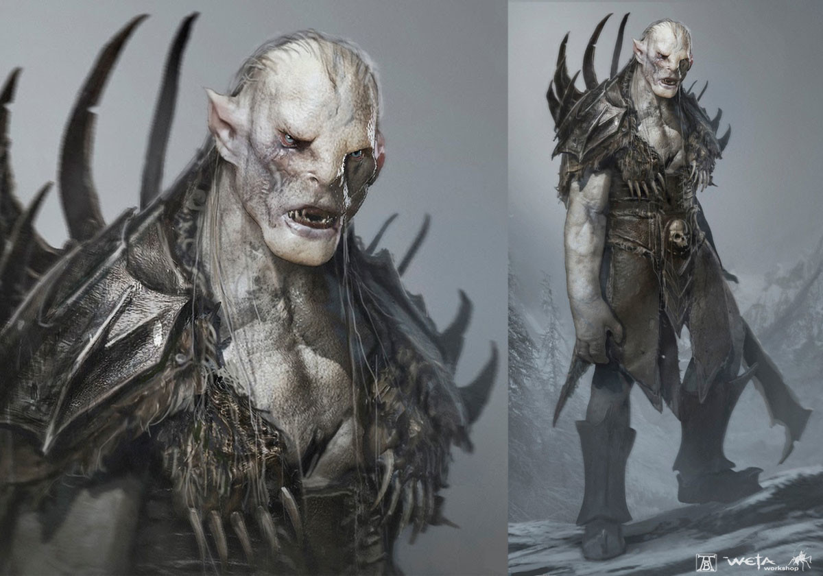 White Orc Lord Of The Rings