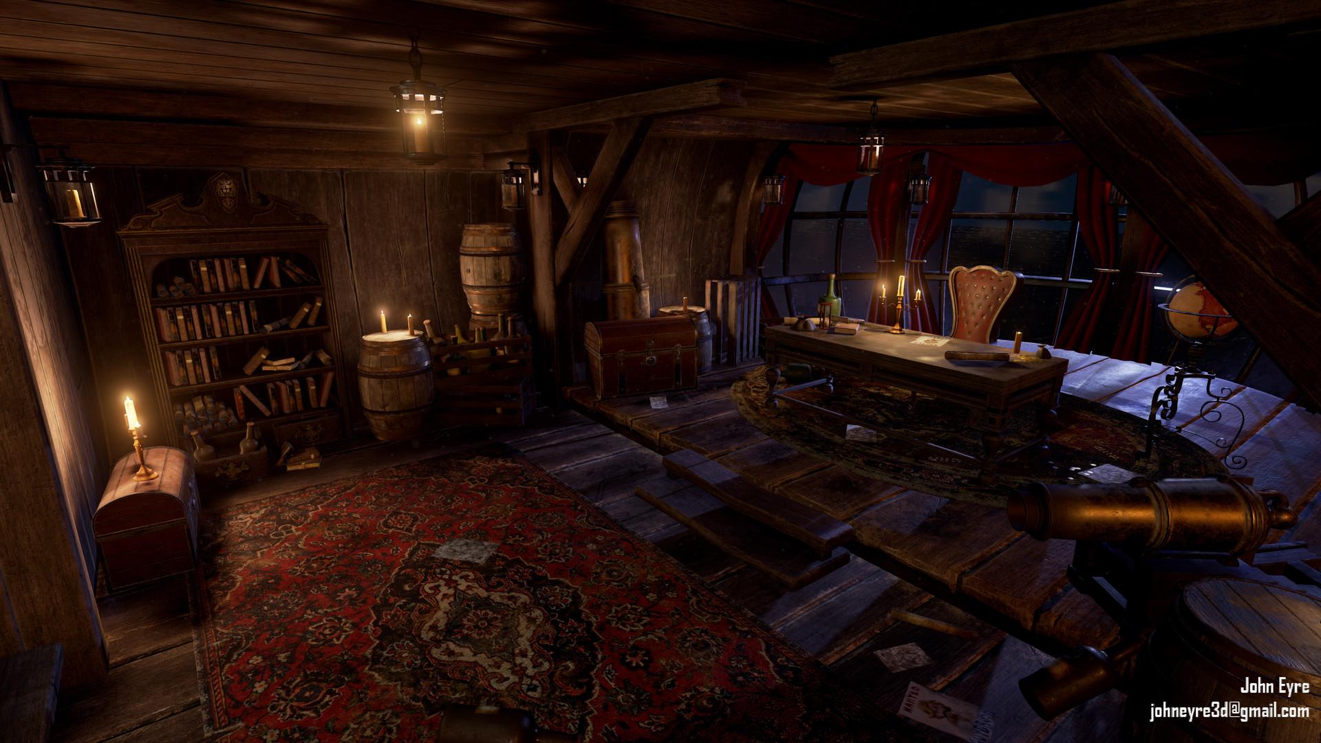 Pirate Captain S Room