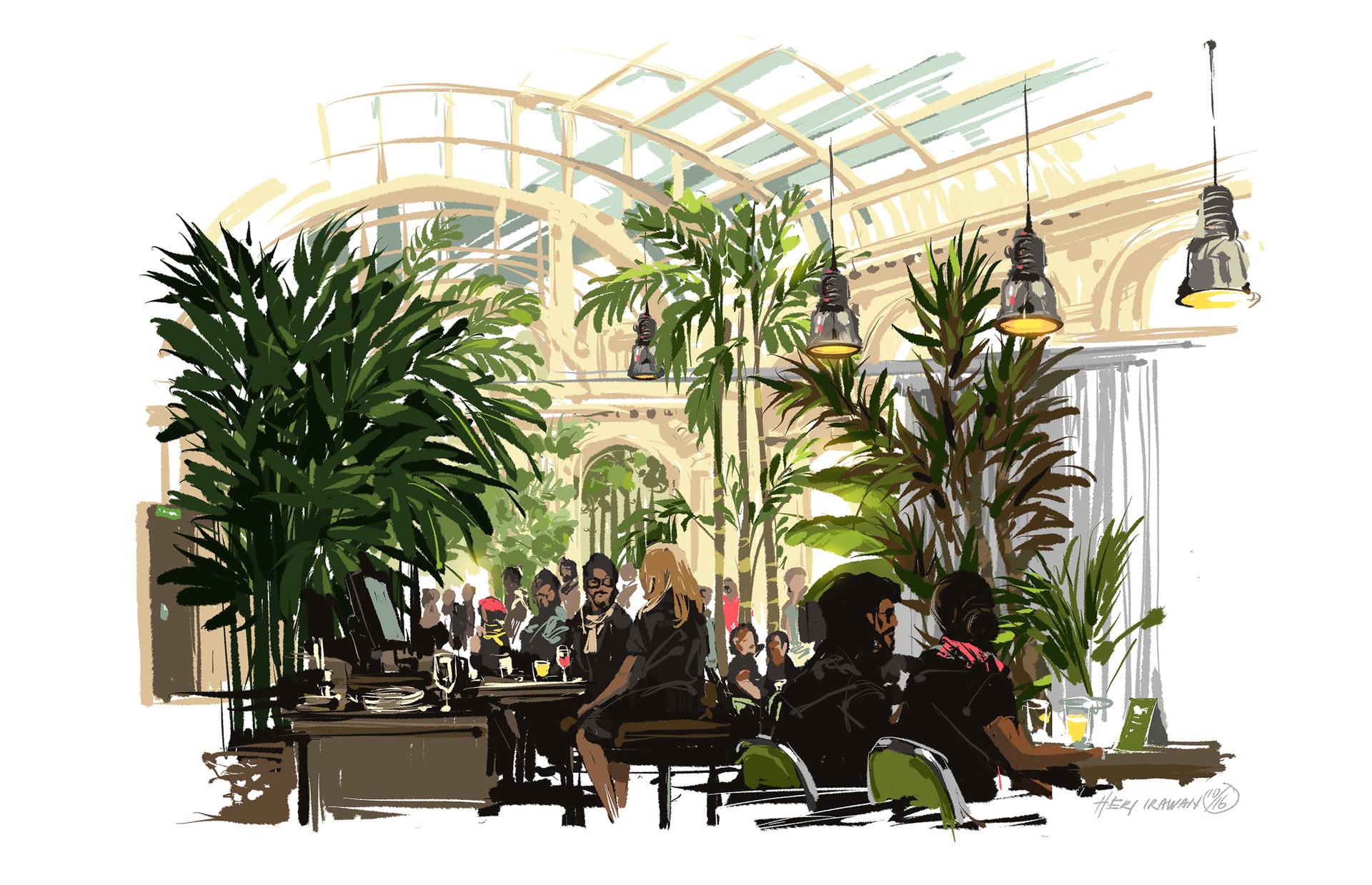 Heri irawan palmenhaus cafe