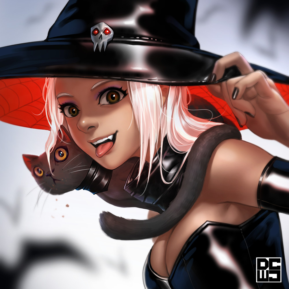 Derrick chew halloween witch