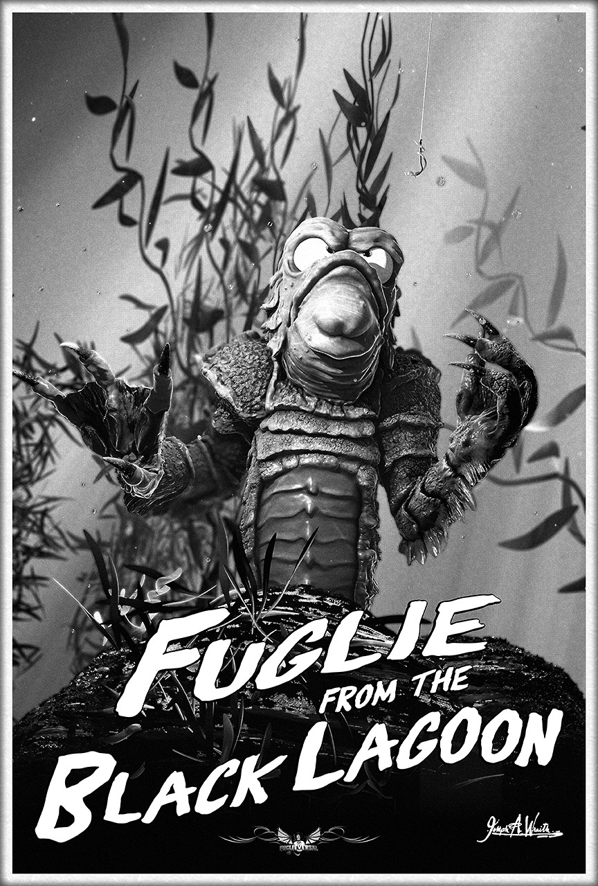 Fuglie From The Black Lagoon - Movie Poster