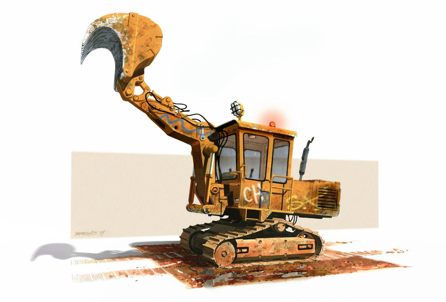 Rodolfo damaggio mh excavator v01rd