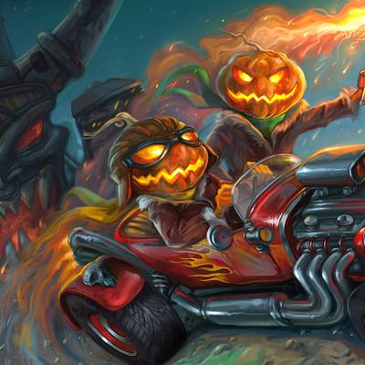 Sabin boykinov halloween racing