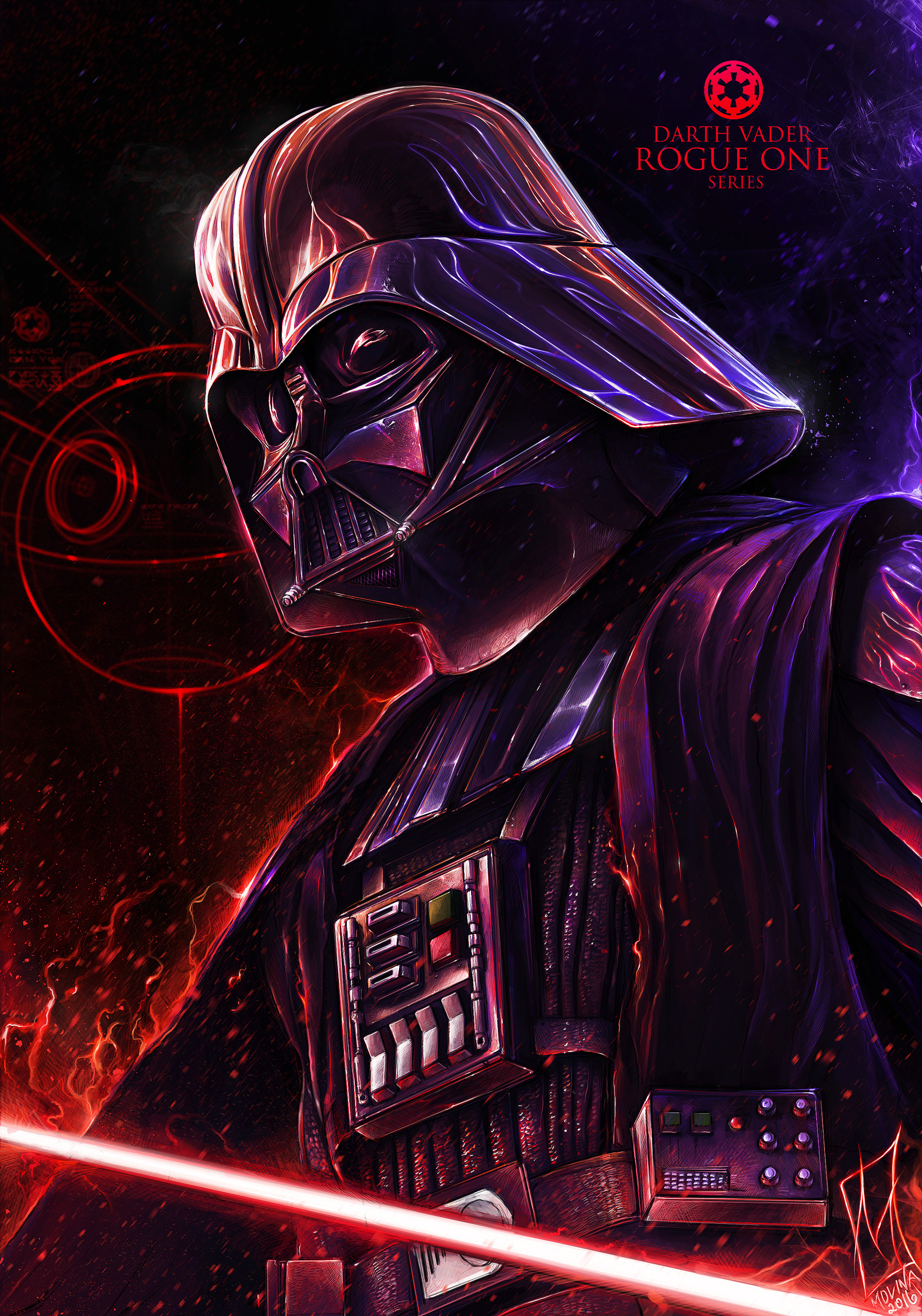 Shane molina darth vader print final