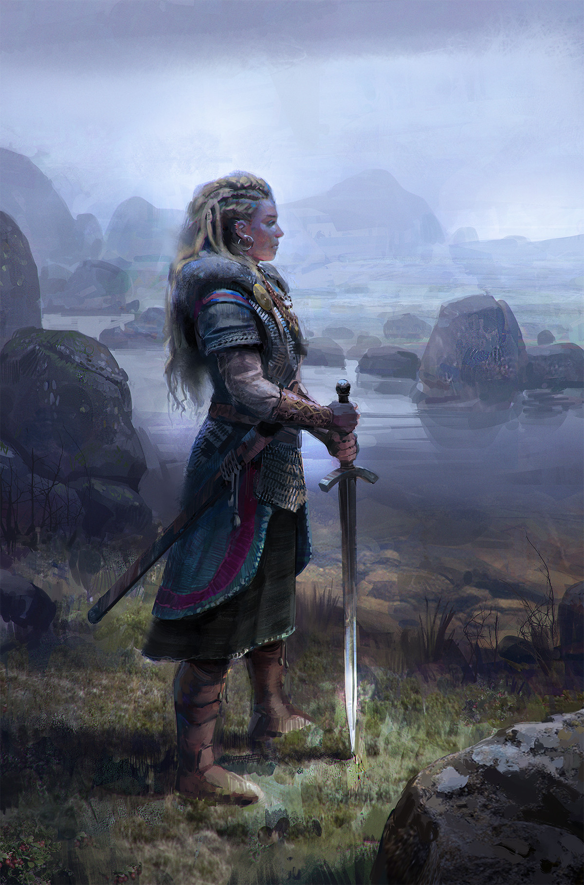 ArtStation - Viking Woman, John Wallin Liberto