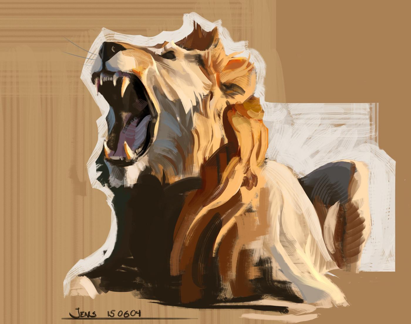 Jens bengtsson study lion 01