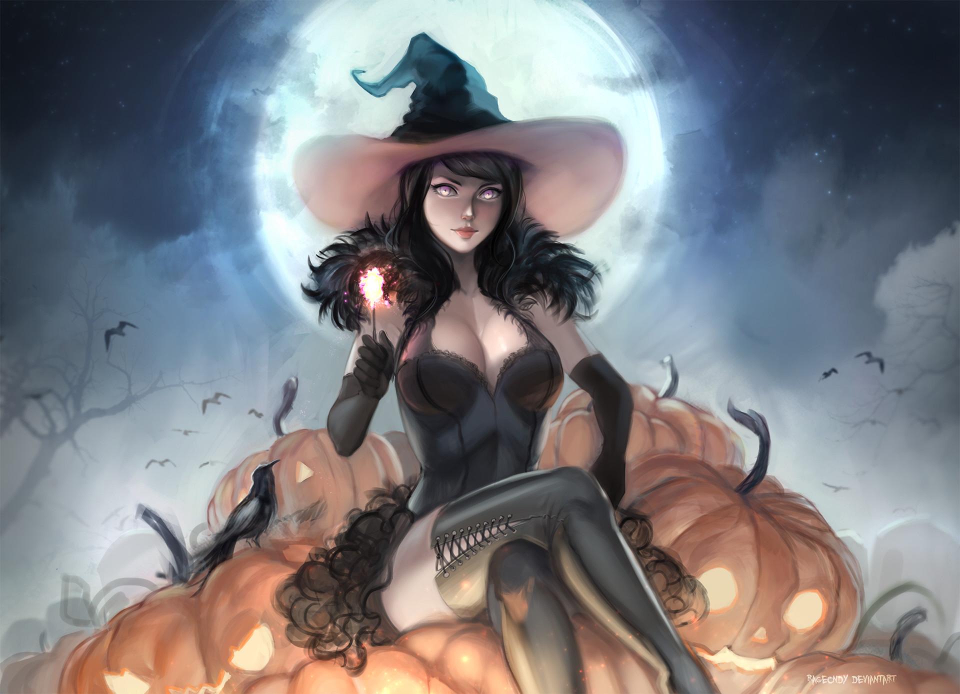 Fantasy Witch Teen Art