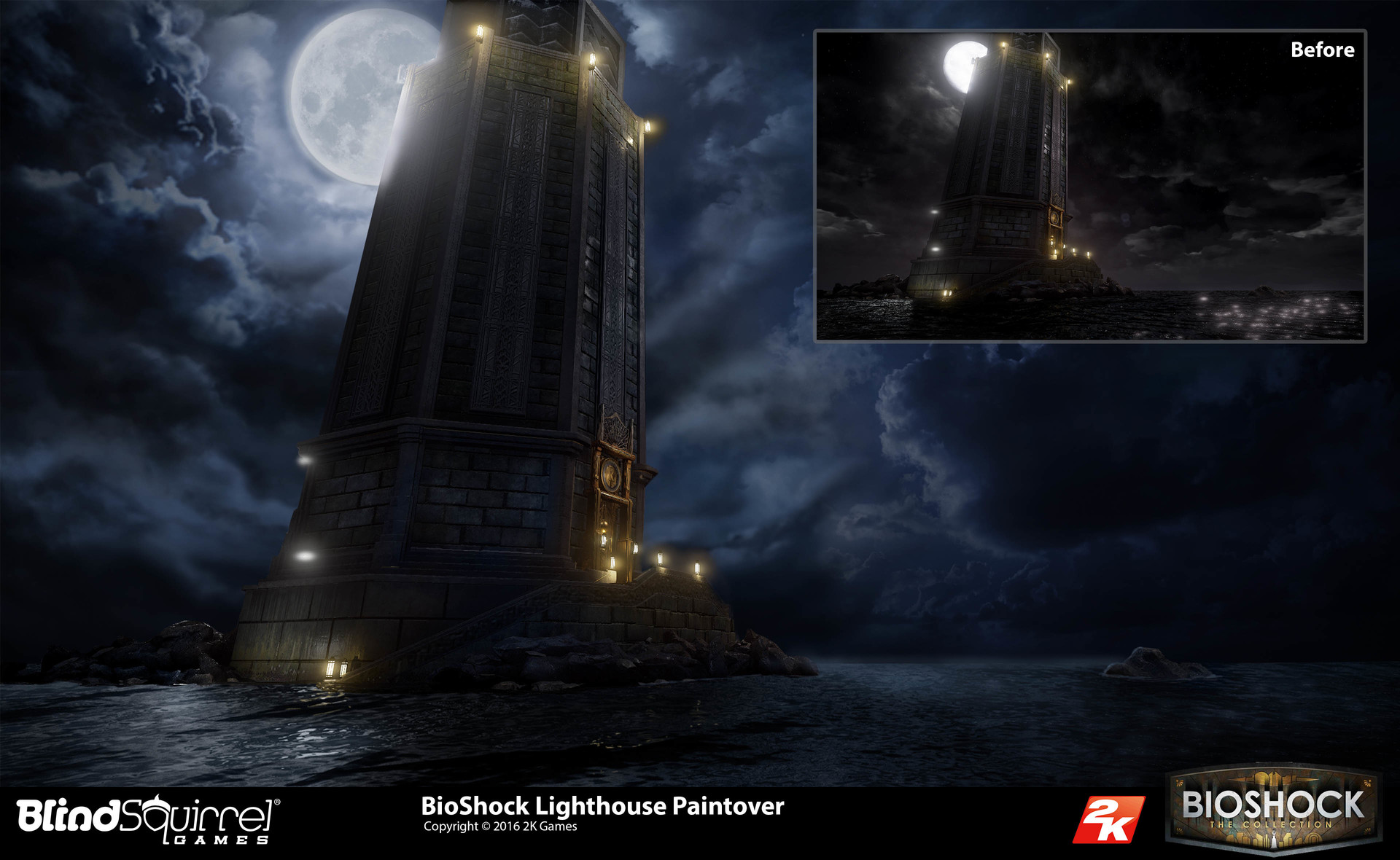 Artstation Bioshock Collection The Lighthouses Jeff Zugale