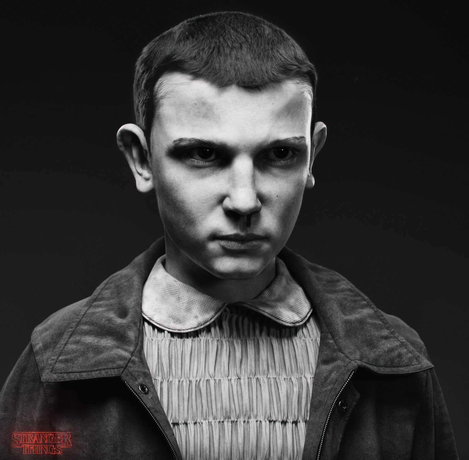 Stranger Things - Eleven portrait