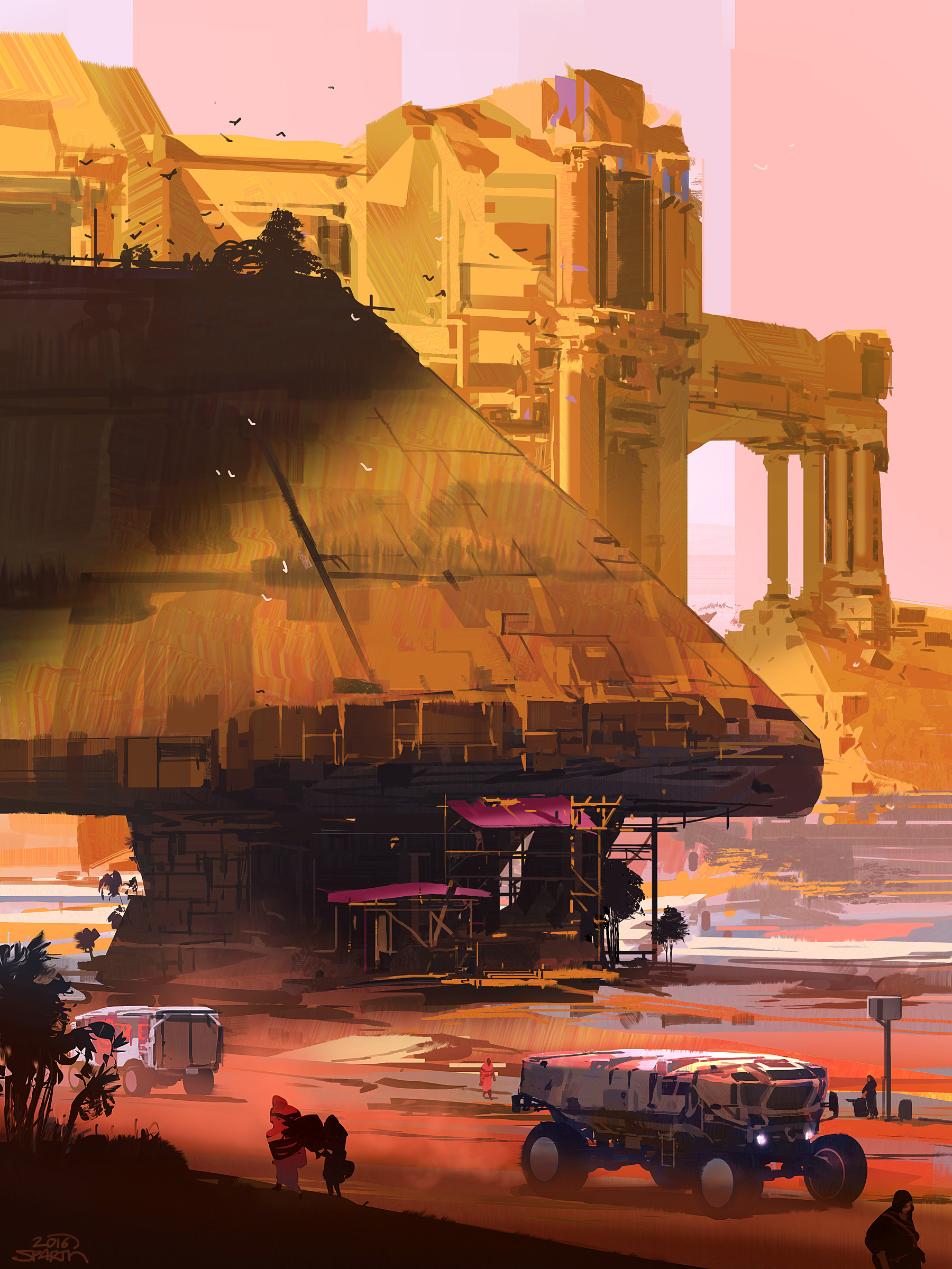 Sparth sparth far world pyramids small