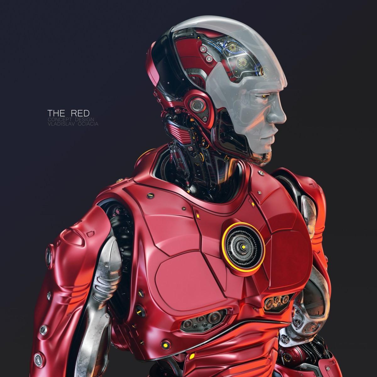Vladislav ociacia the red robot 1
