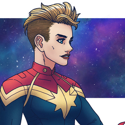 Andrew sebastian kwan captain marvel by andrewkwan damly09