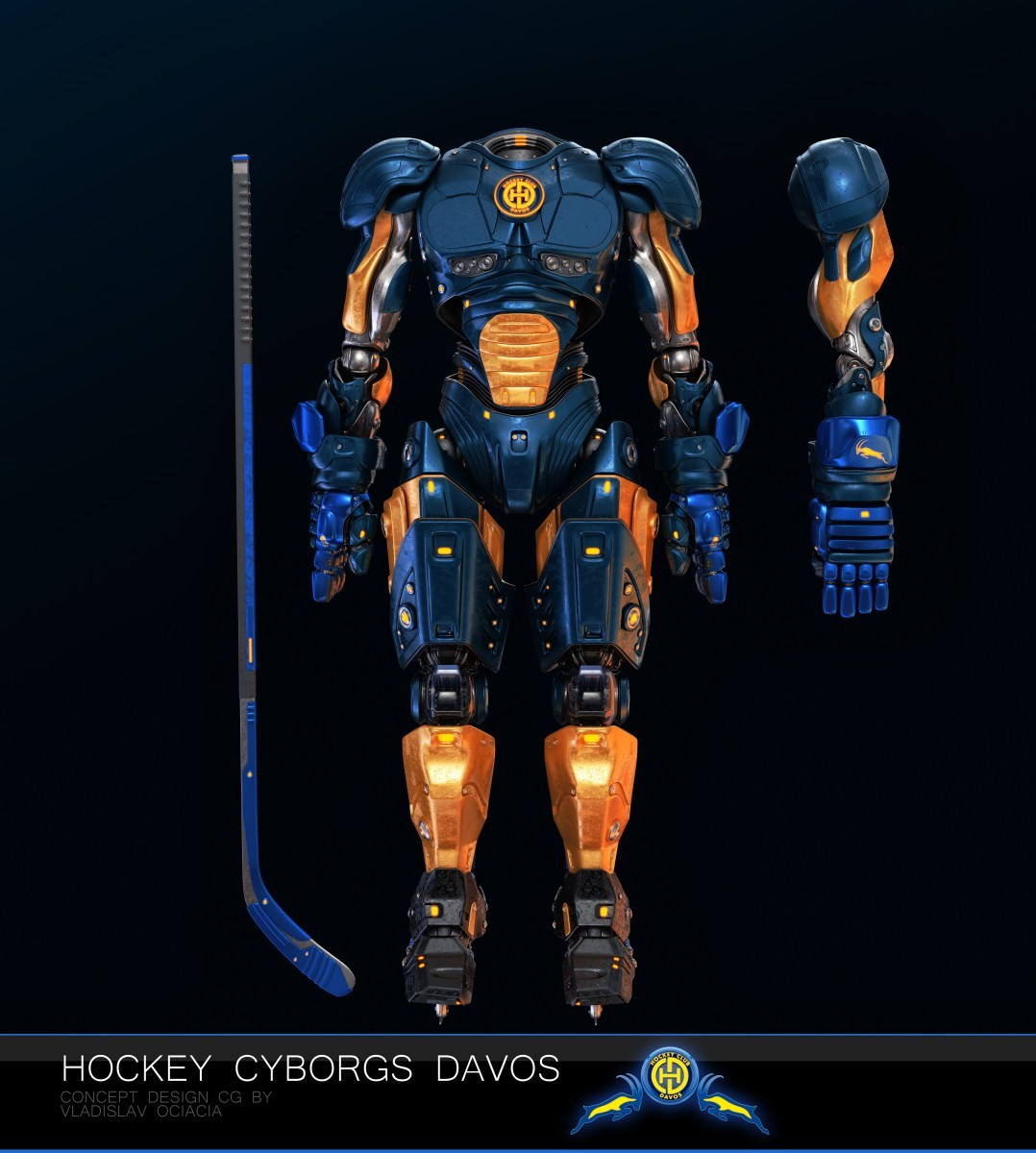 Vladislav ociacia hockey player robots 21