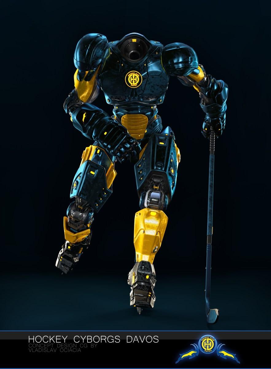 Vladislav ociacia hockey player robots 10