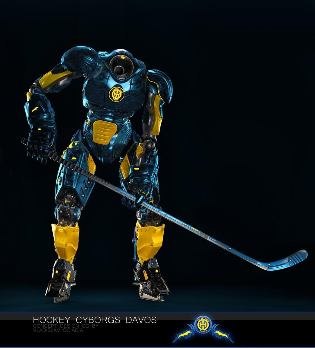 Vladislav ociacia hockey player robots 13