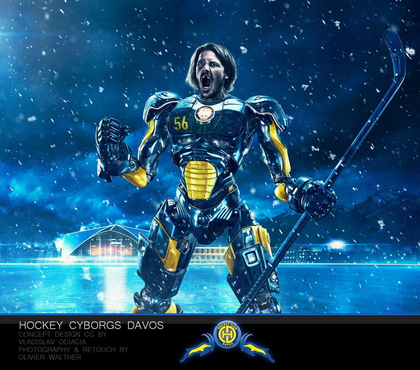 Vladislav ociacia hockey player robots 2