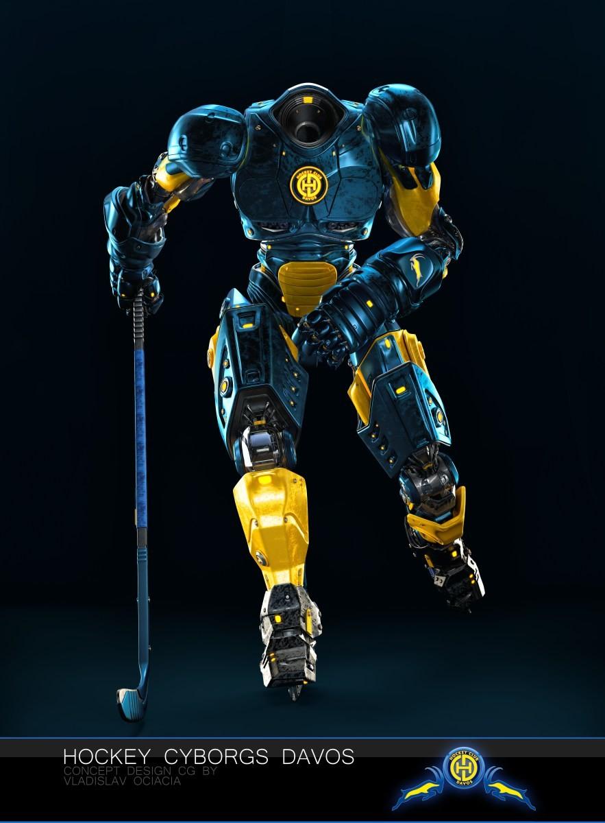Vladislav ociacia hockey player robots 8