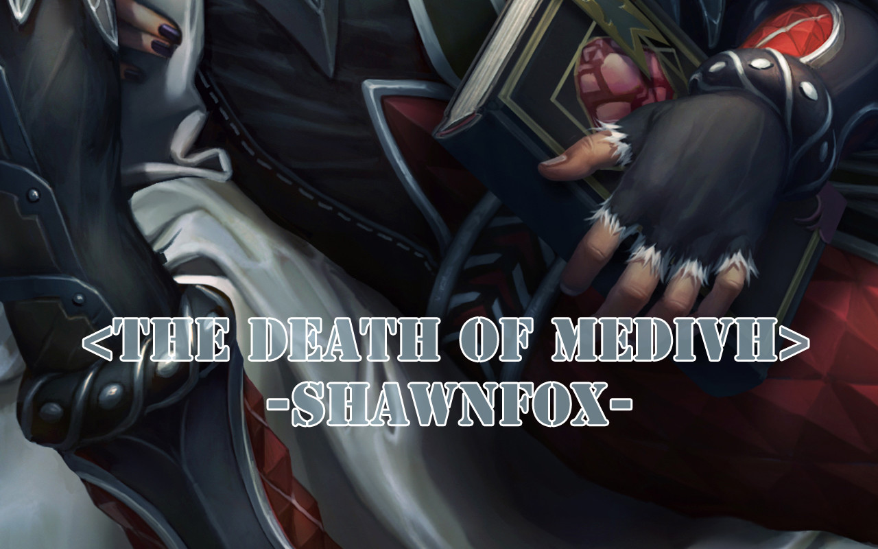 Shawn fox the death of medivh 03
