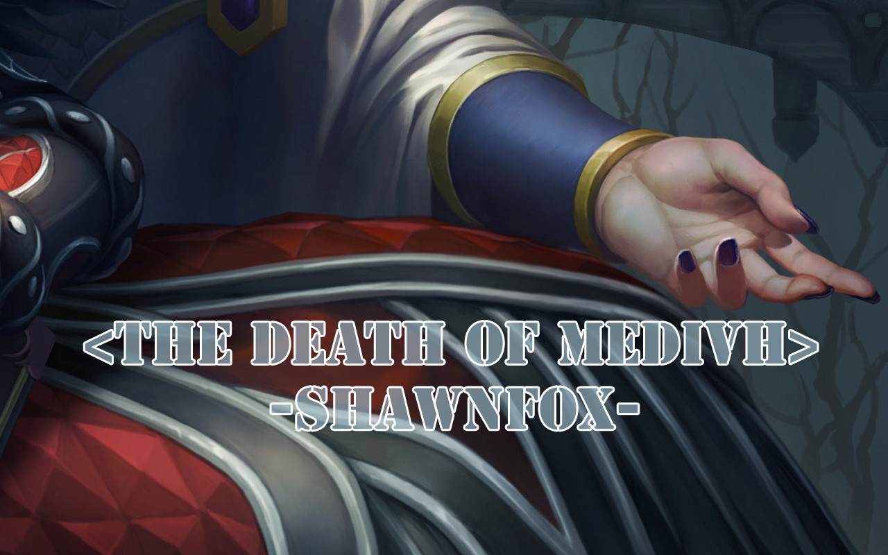 Shawn fox the death of medivh 04