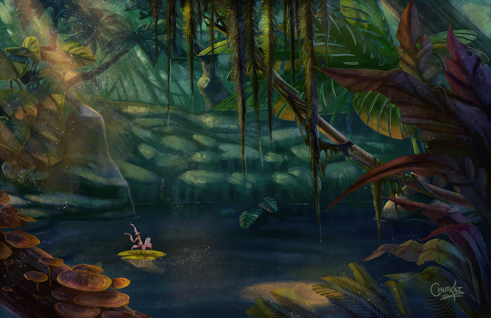 Final Background Illustration. - no character