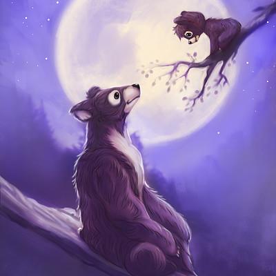Okan bulbul bear family04