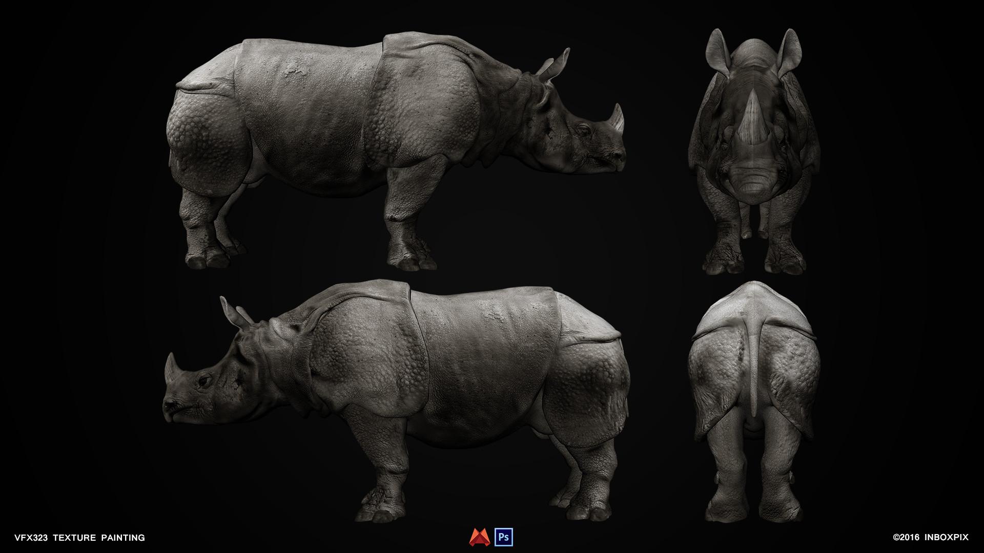 ArtStation Rhino Rittikiat Sudeiad