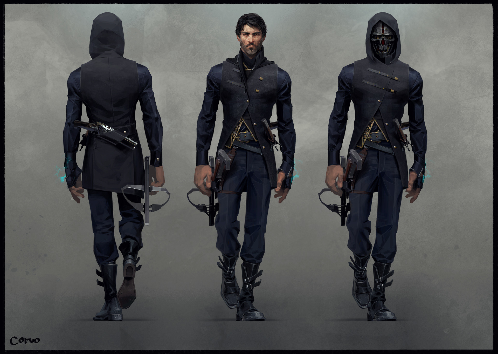 Sergey kolesov corvo outfit