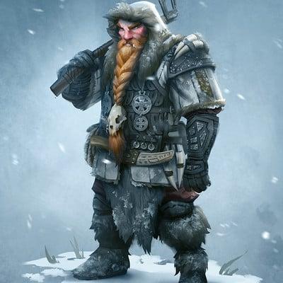Magnus noren dwarf warrior2