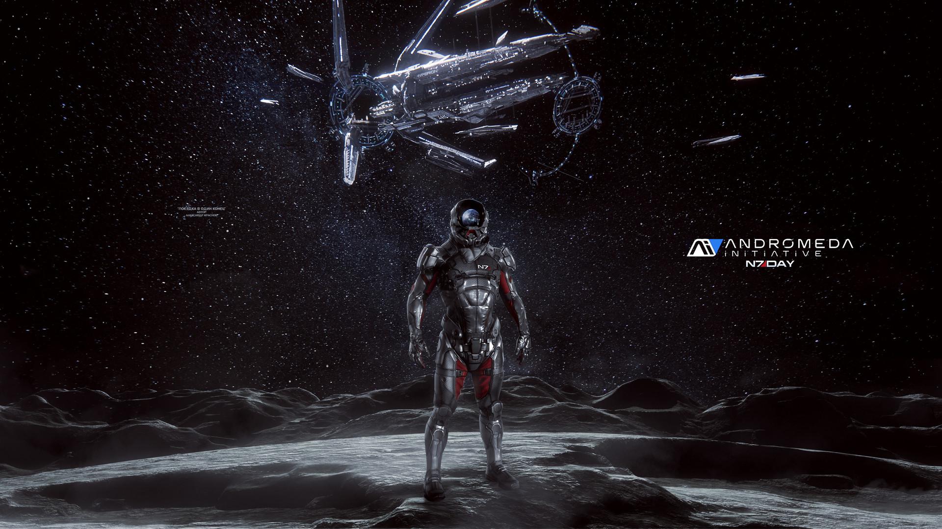 Artstation One Way Trip Mass Effect Andromeda Wallpaper 4k
