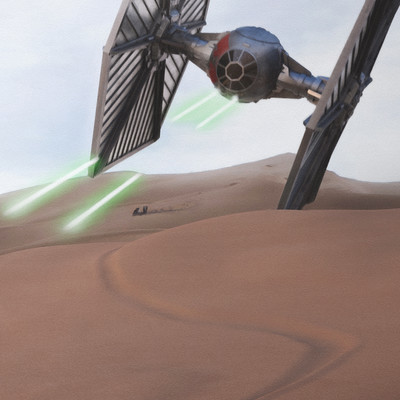 Sebastian luedke starwars firstcontact