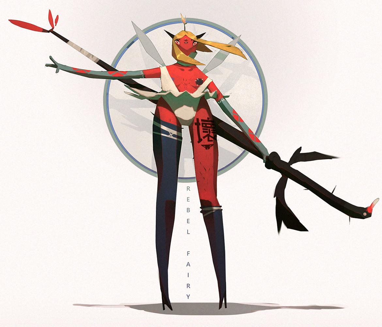 rebel fairy